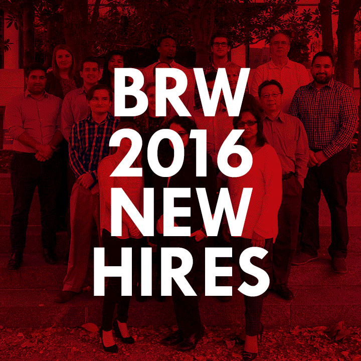 2016 BRW New Team Members